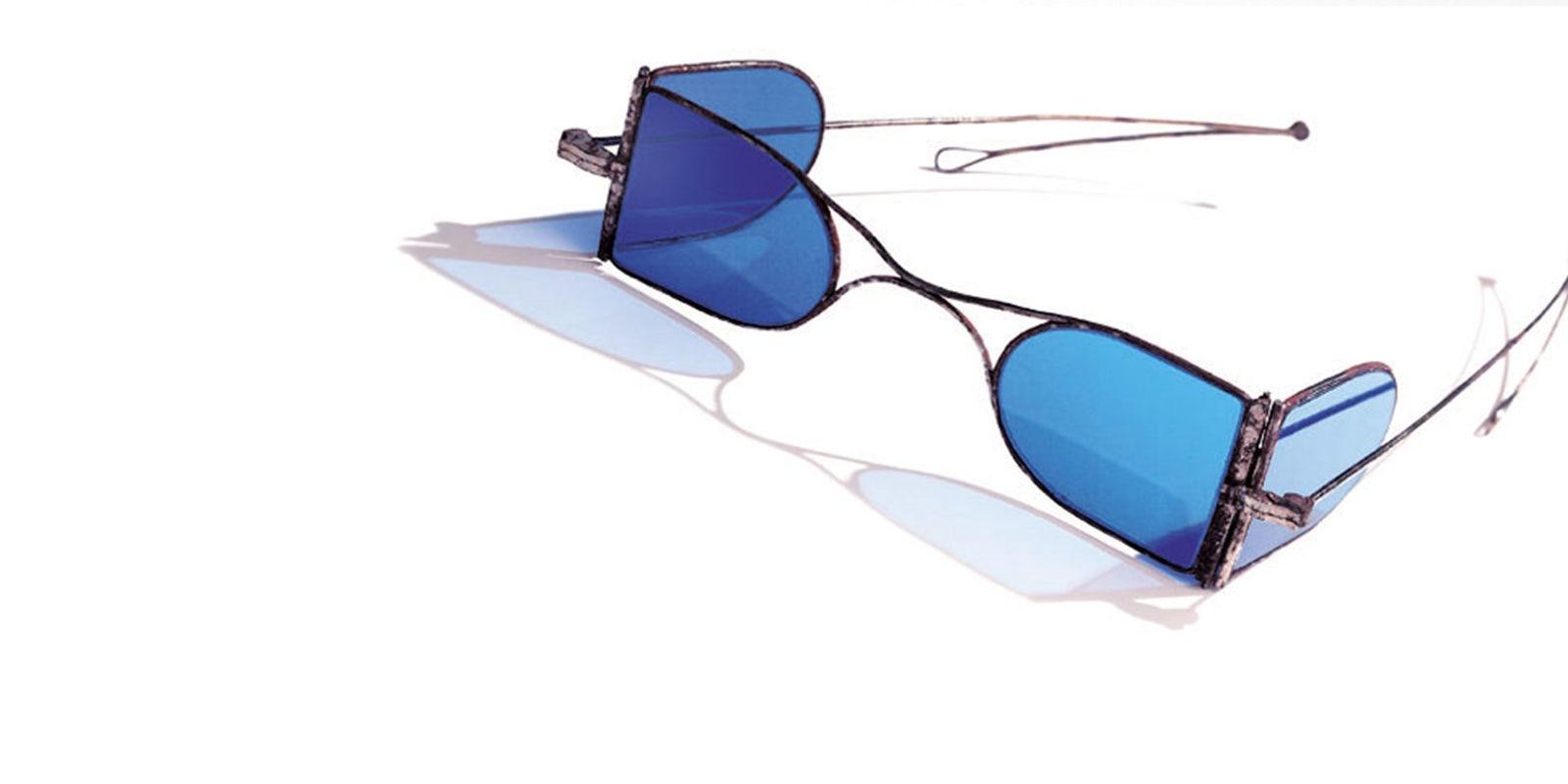 Jules Baud / Les premières lunettes cristalliers
