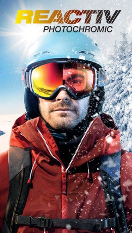 Julbo reactiv photochromic goggle lenses